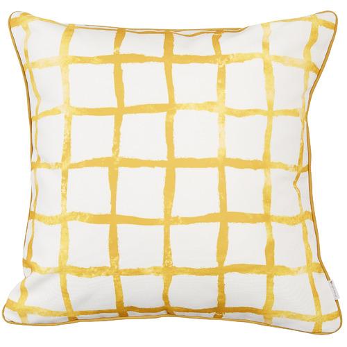 Capri Cotton-Blend Outdoor Cushion