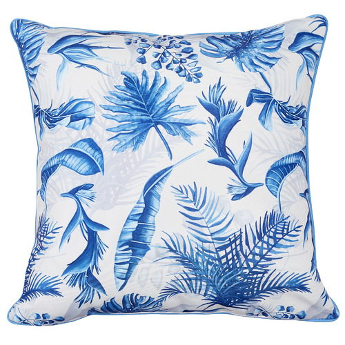 Belize Cotton-Blend Outdoor Cushion