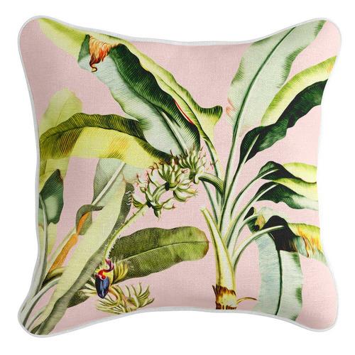 Bahamas Linen-Blend Cushion Cover