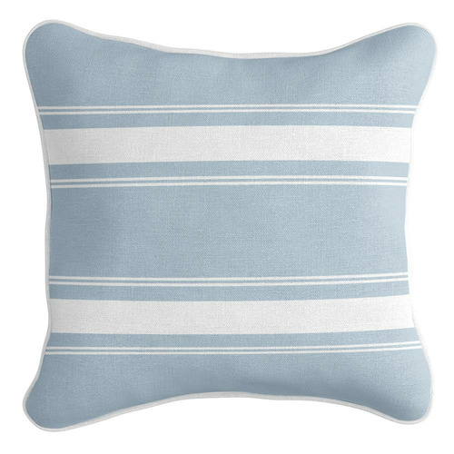 French Stripe Linen-Blend Cushion Cover