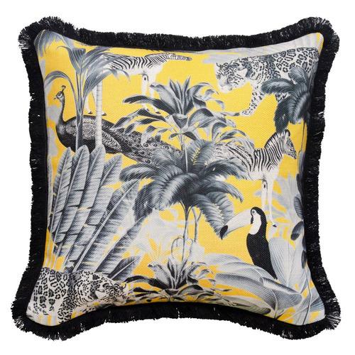 Safari Dreams Linen-Blend Cushion Cover
