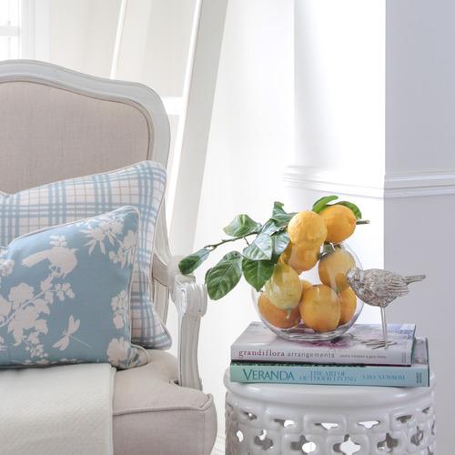 Louis Rectangular Linen-Blend Cushion Cover