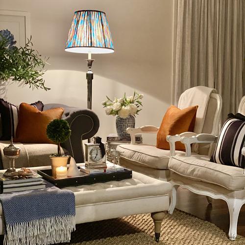 Alba Linen-Blend Cushion Cover