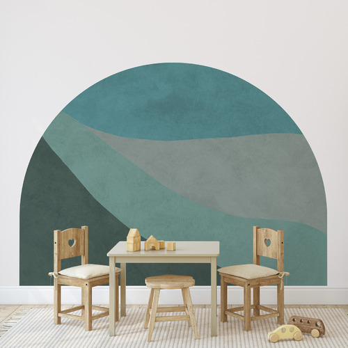 Forest Scapes Reusable Headboard Decal