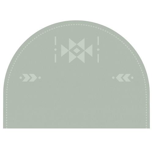 Succulant Sage Reusable Headboard Decal