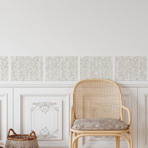 Herringbone Tile Stickers