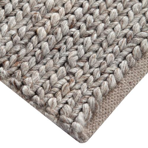 Grey JH Solano Wool-Blend Rug