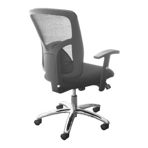Black Fluent Mesh Back Office Chair