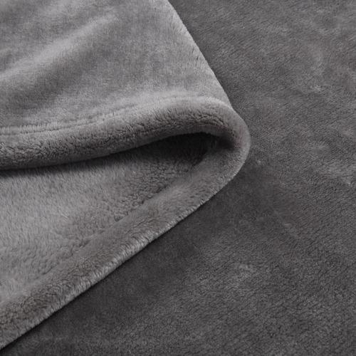 Faux Fur Microfibre Blanket