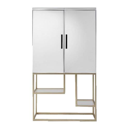 Scottie Cocktail Display Cabinet