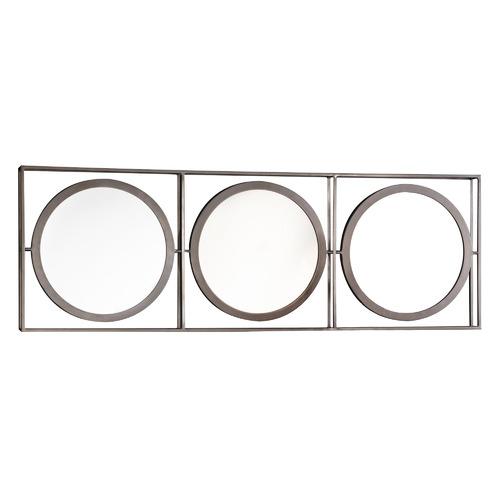 3 Piece Hegre Iron Wall Mirror