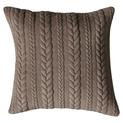 Serena Embroidered Chenille Cotton-Blend Cushion