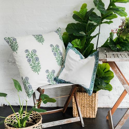 Iris Quilted European Cushion Cover