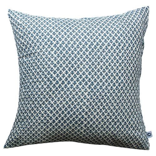 Indigo Quilted European Cushion Cover