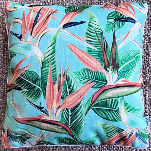 Faith Platinum Outdoor Cushion Cover