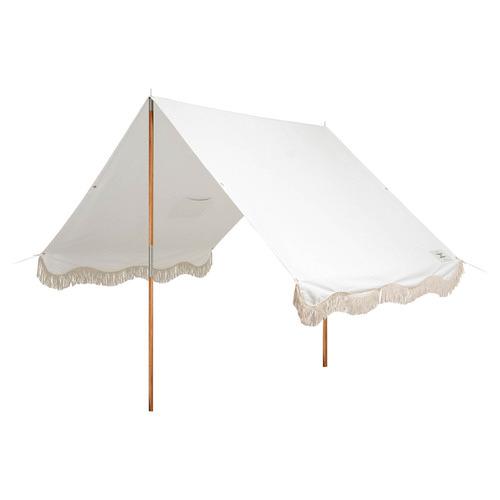 Antique White Premium Beach Tent