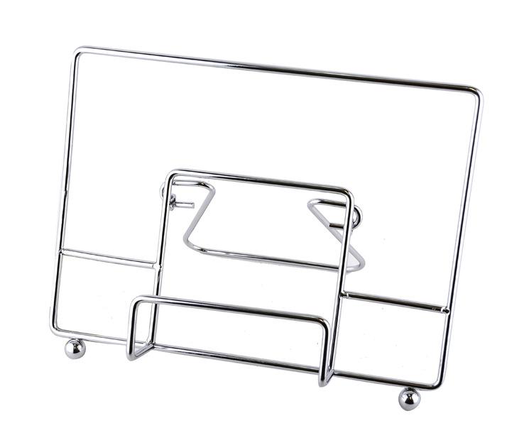 Foldable Metal Cookbook & Tablet Stand
