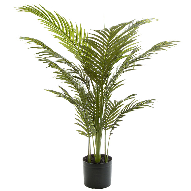 100cm Potted Faux Palm Tree