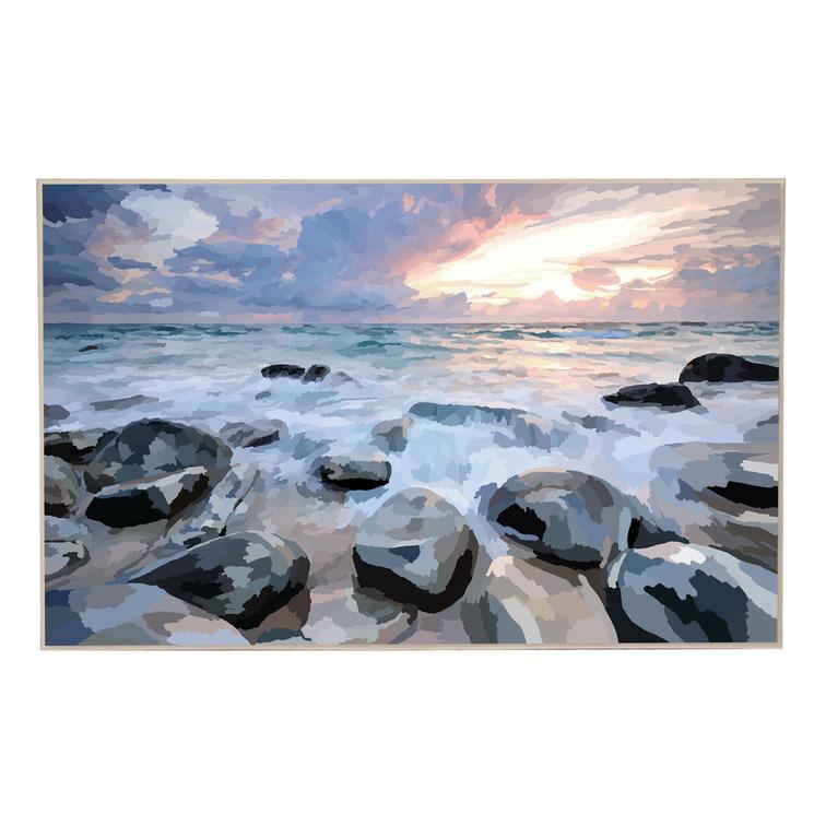 Coastal Shores Canvas Wall Art