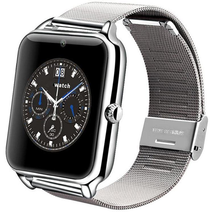 Silver Cool Guy Smart Watch