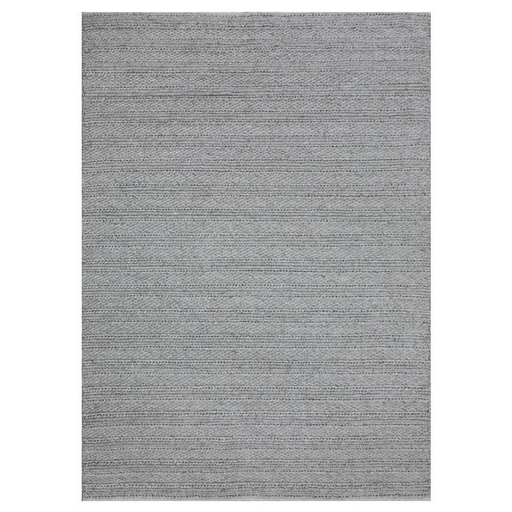 Marled Anja Hand-Woven Wool-Blend Rug