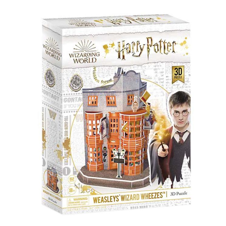 Harry Potter 62 Piece Weasleys' Wizard Wheezes 3D Puzzle