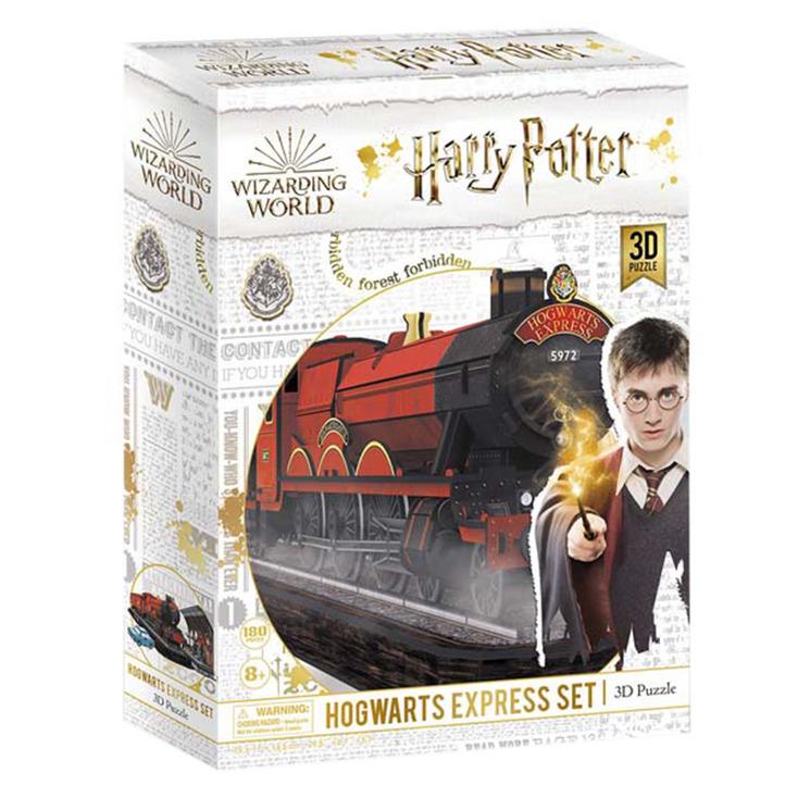 Harry Potter 181 Piece Hogwarts Express 3D Puzzle
