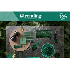 #trending Colours - Emerald