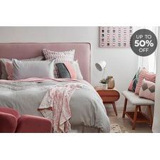 Blush Scandi Bedroom