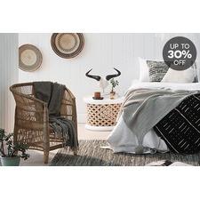 Safari-Style Bedroom