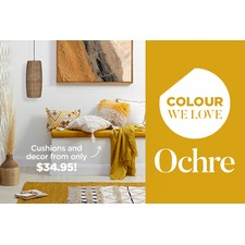 Colour we love - Ochre