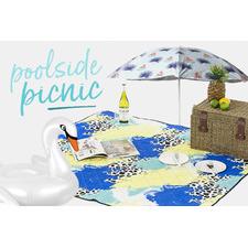 Poolside picnic