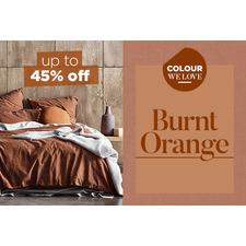 Colour we love - Burnt orange hues