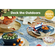 Deck the outdoors