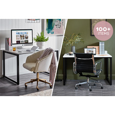One Desk, Two Ways