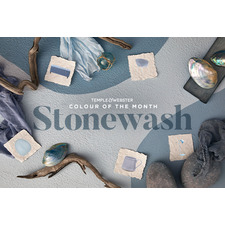 Colour of the month - Stonewash