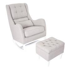 2 Piece Love N Care Vesta Rocking Chair & Ottoman Set