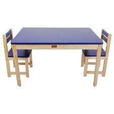 Little Boss Kids' 2 Seater Table & Chair Set