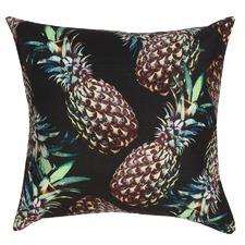 Black Brazil Pineapple Cushion