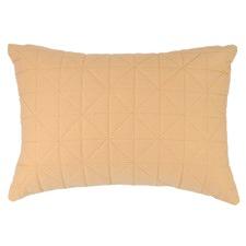 Quilted Peach Rectangular Cushion
