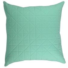 Quilted Aqua Cushion