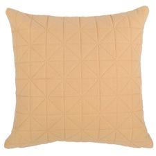 Quilted Peach Cushion