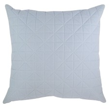 Quilted Powder Blue Cushion