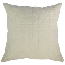 Quilted Beige Cushion