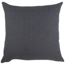 Quilted Charcoal Cushion