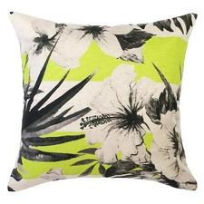 Hula Moon Yellow Stripe Cushion