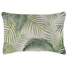 Green Seminyak Piped Rectangular Outdoor Cushion