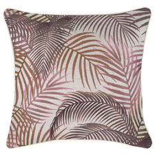 Rose Seminyak Piped Square Outdoor Cushion
