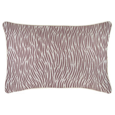 Rose Wild Piped Rectangular Outdoor Cushion