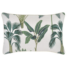 Piped Edge Del Coco Rectangular Outdoor Cushion